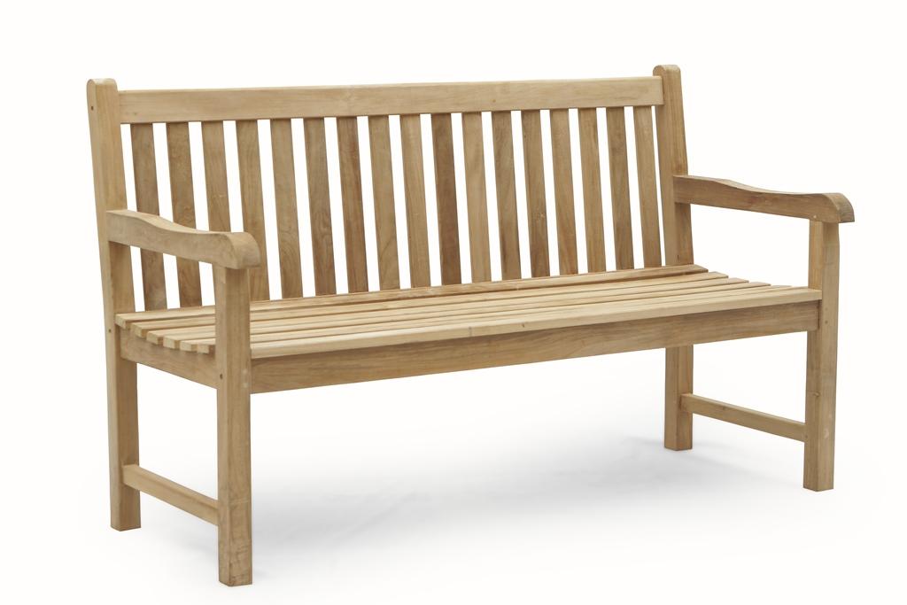 3 Sitzer Gartenbank Teakholz 150 cm - schönes für menschen