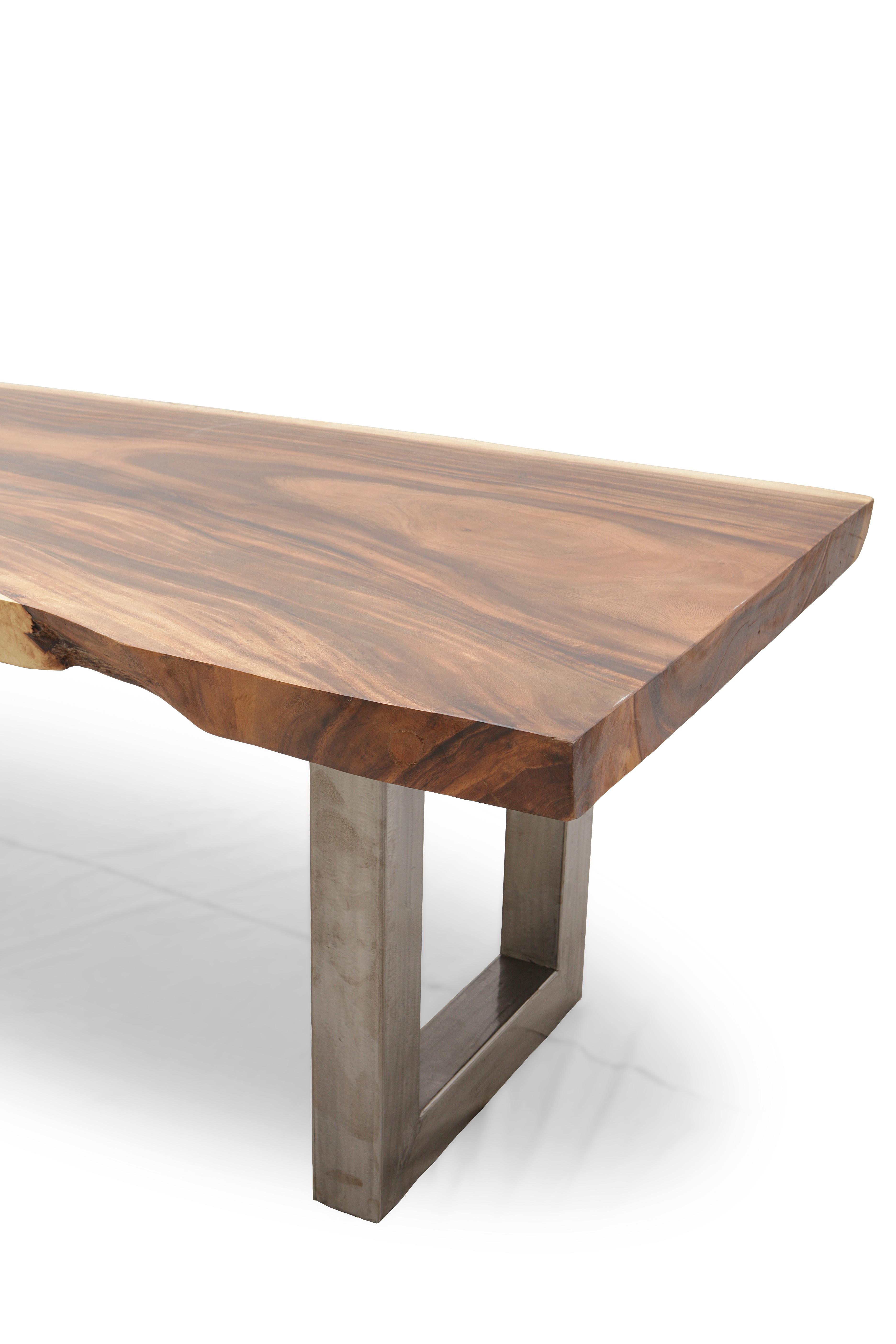 esstisch holz tisch aus einem baumstamm baumscheibe. Black Bedroom Furniture Sets. Home Design Ideas