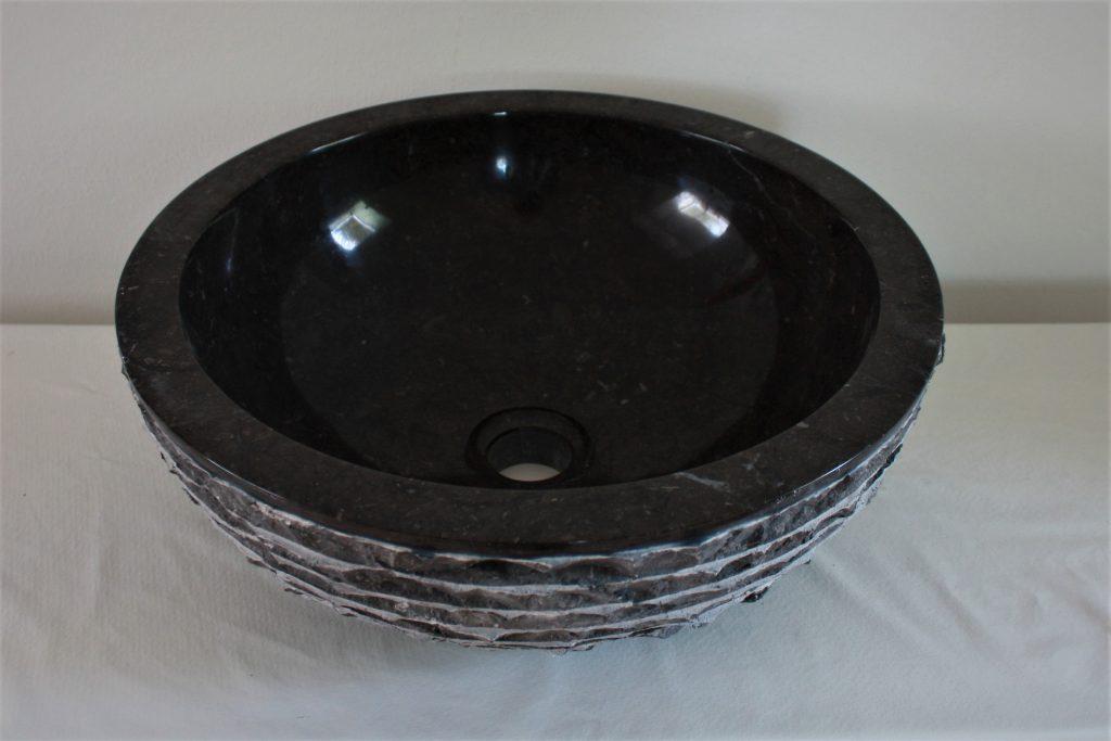 marmor waschbecken 40 cm aufsatzwaschbecken naturstein. Black Bedroom Furniture Sets. Home Design Ideas