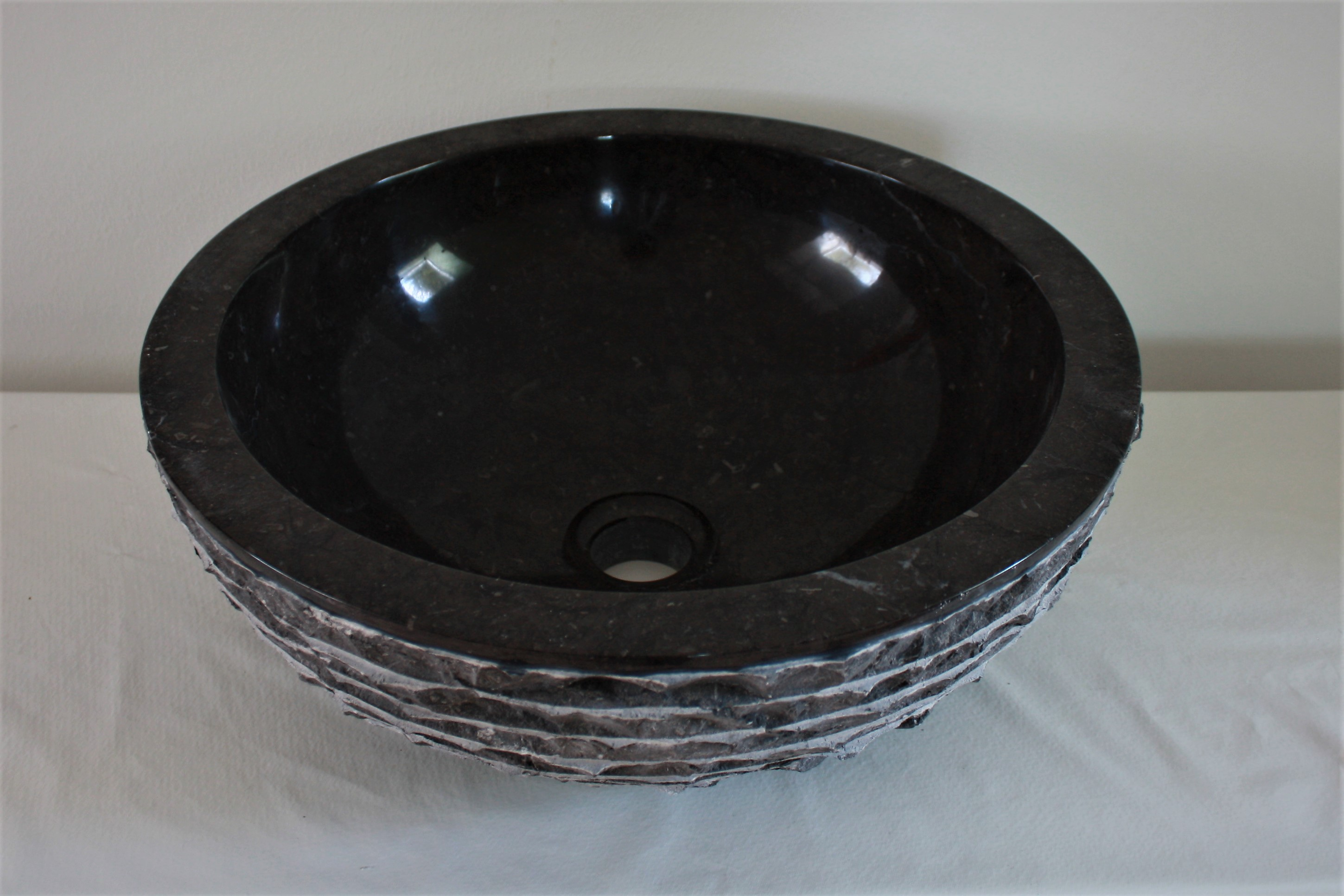 Marmor Waschbecken 40 Cm Aufsatzwaschbecken Naturstein