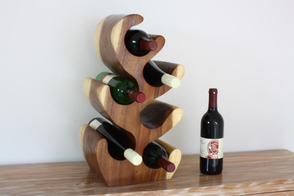 Weinständer Aus Massivem Holz Das Perfekte Weinregal