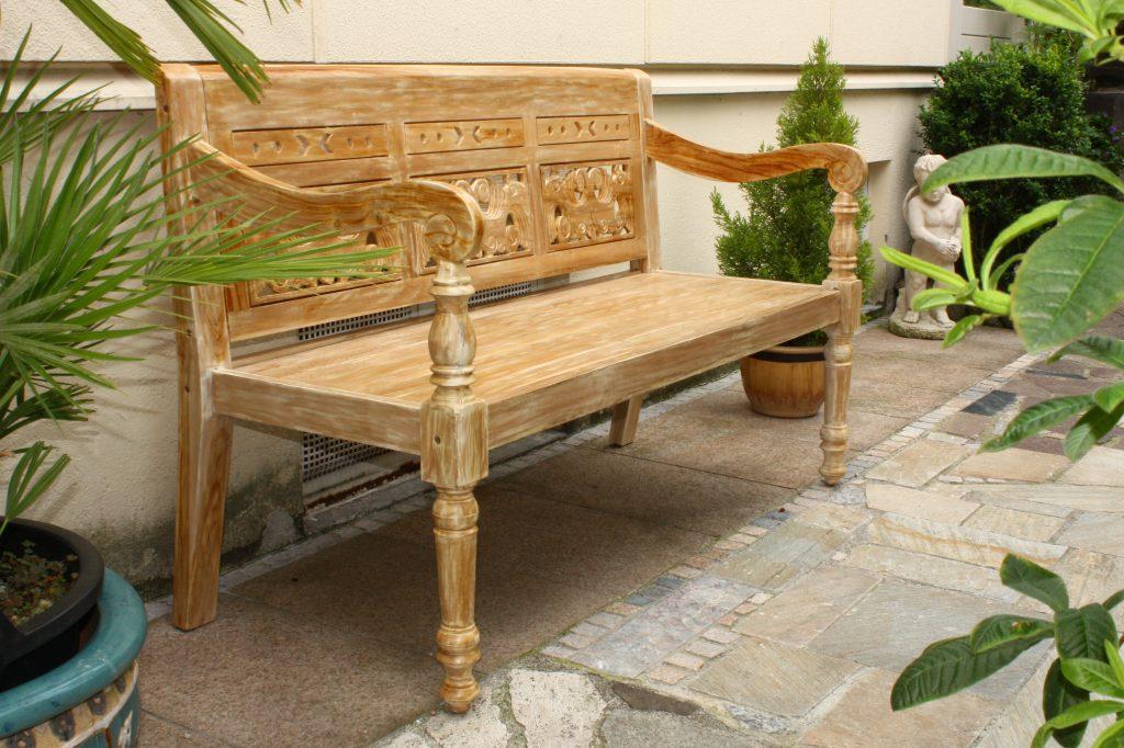 gartenbank teakholz gartenbank holz. Black Bedroom Furniture Sets. Home Design Ideas
